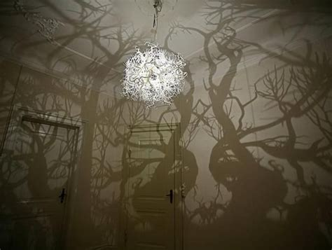 Forms In Nature Chandelier Twigs And Roots Lighting Fixture Brings Forms Of Nature Into Modern I