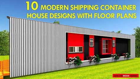 modern shipping container house in australia youtube 10 modern shipping container house designs with floor