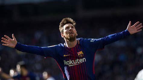 La-Liga: Messi finishes 2017 ahead of Ronaldo with 54 goals