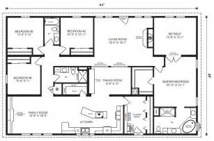 floor plans 16 215 80 mobile home floor plans bee home plan home