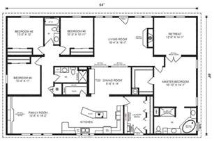 Floor Plan Of House Modular Floor Plans On Modular Home Plans