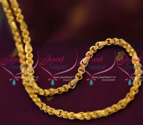 gold black chains models c7957 24 inches mens wear gents model 5 mm thick broad
