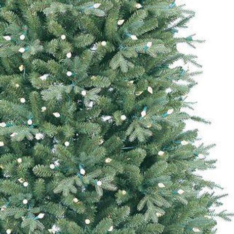 aspen fir 7 5 ft just cut deluxe aspen fir artificial tree with 500 color choice led lights