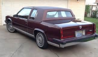 85 Cadillac Coupe Well Documented Collectible 85 2dr Cadillac Fleetwood