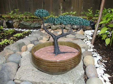 Bonsai Tree Planters by Bonsai Tree Brown Planter Sculpture By Faucett