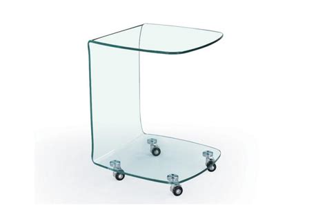 Table Bout De Canape En Verre