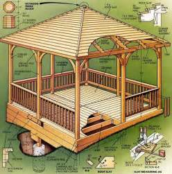 Galerry easy gazebo designs