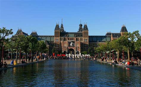 In Amsterdam by Rijksmuseum