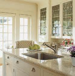 glass front kitchen cabinets designer kitchens glass front cabinets simplified bee
