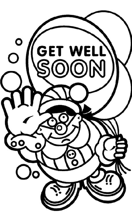 coloring pages for get well soon get well soon coloring pages 27201 bestofcoloring com