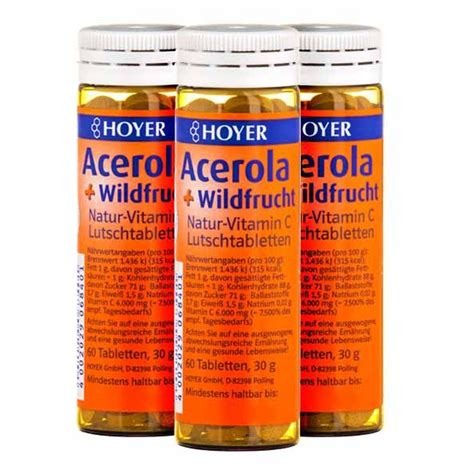 Acerola Cherry Scrub hoyer acerola and fruits berries with vitamin c