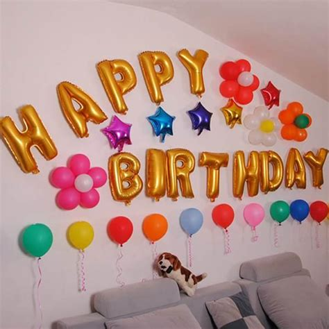 birthday cake decoration ideas at home birthday wall decoration ideas at home image inspiration