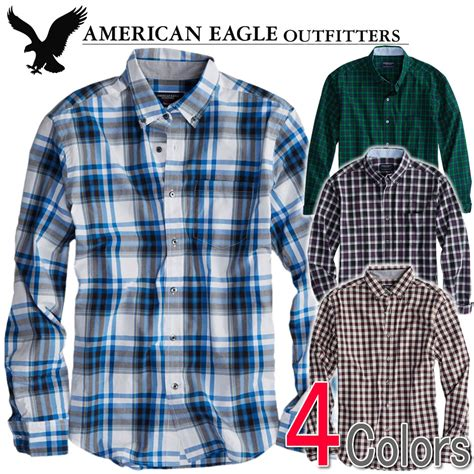Plaid Shirt By American Eagle shushubiz rakuten global market american eagle