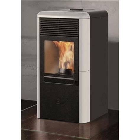 italiana camini point stufa a pellet italiana camini point 8 kw bordeaux