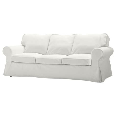 ikea sofa white ektorp three seat sofa blekinge white ikea
