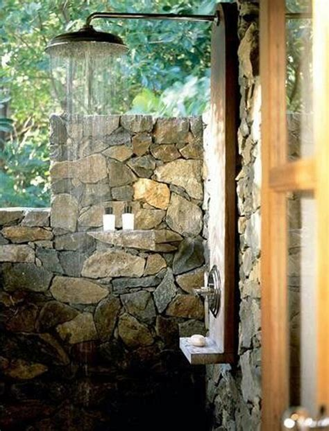 best outdoor shower 15 awesome outdoor showers and bathrooms home design and