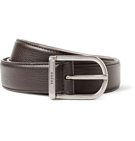 9885 3 Gucci 3 In 1 gucci 3cm brown leather belt in brown for lyst