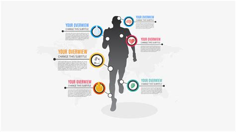 Men Sport Infographic Prezi Template Prezibase Sports Graphic Design Templates