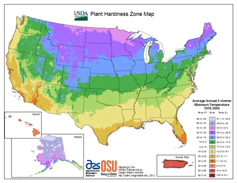 usda map view maps usda plant hardiness zone map