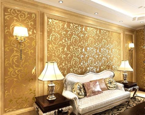 3d wallpaper decor for home genuine victorian glitter wallpaper 3d silver background