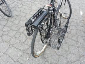 fabricaciop rear bike rack basket