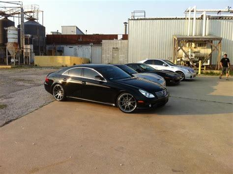 fs  mercedes cls  black amg sport pkg  piece  wheels mbworldorg forums