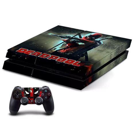 design games ps4 deadpool high premium designer limited edition ps4 skin 2