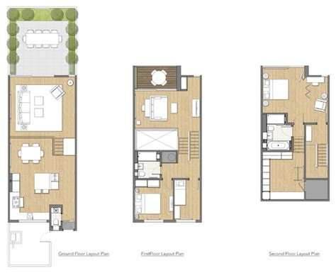 terraced house refit contemporary floor plan