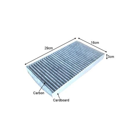 Cabin Filter Purpose by Cuk2951 Black Carbon Car Cabin Air Filter For Alfa Romeo