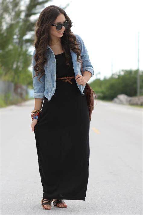 Maxi Lona Brukat Black the black maxi dress nany s klozet