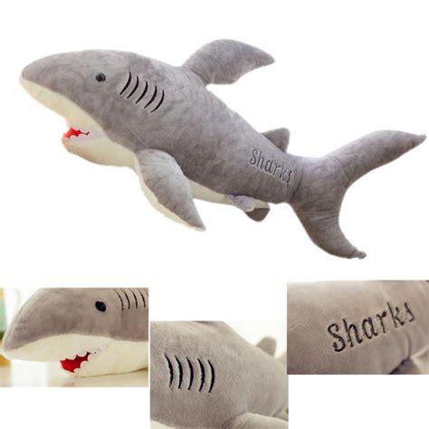 shark plush shark shaped plush doll animal bolster pillow gift alex nld