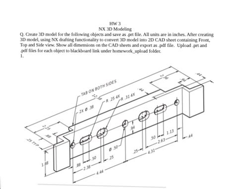 exterior design 3d from 2d conver pdf to file cad for 15 seoclerks create 3d model for the following objects and save