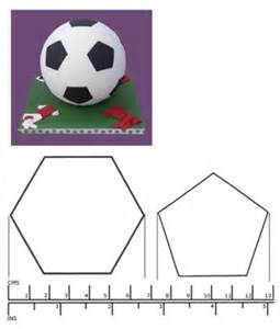 soccer template for cookies kit box cutters football cutters hexagon and pentagon