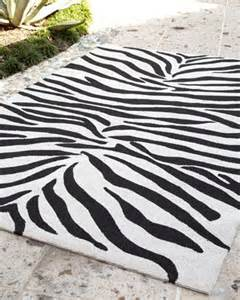 Zebra Print Outdoor Rug Zoey Zebra Print Rug 2 X 3 Hd Backyards Rugs And Ps
