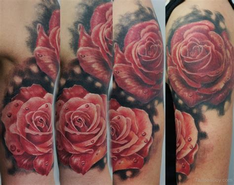 half open rose tattoo tattoos designs pictures page 2