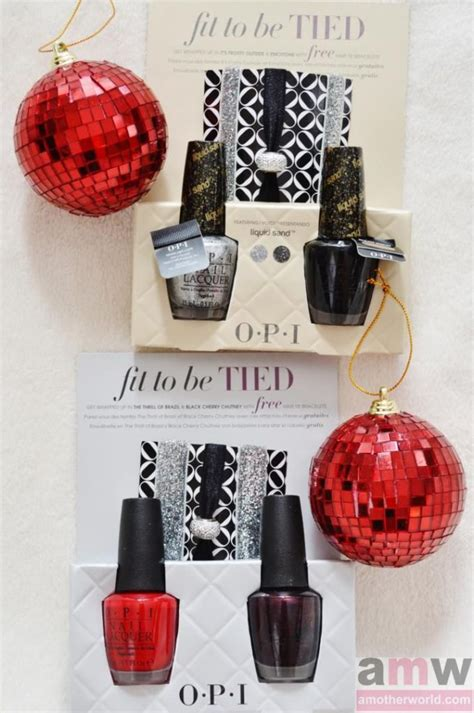 gift ideas for her opi holiday gift sets giveaway