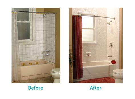 bathroom wraps before after san diego bath wraps