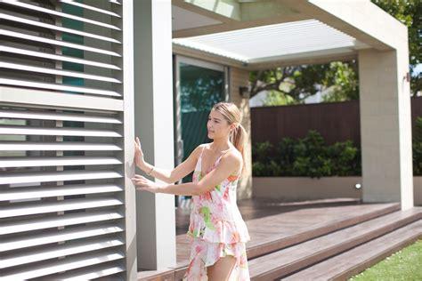 shutters outdoor blinds pvc screens mesh shade blinds
