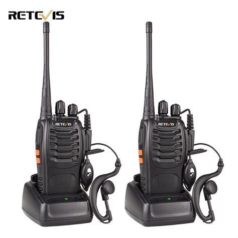 Promo Retevis Walkie Talkie 2 Way Radio 16 Channel Uhf400 470mhz 1pcs 2pcs retevis h777 walkie talkie 3w uhf 400 470mhz frequency portable radio set ham radio hf