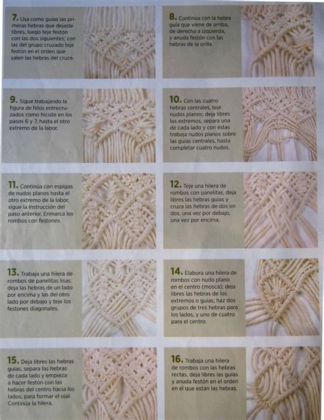 Macrame Knots Pdf - 491 best images about macrame tips on tassels