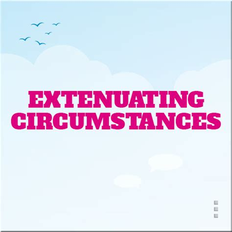 extenuating circumstances academic