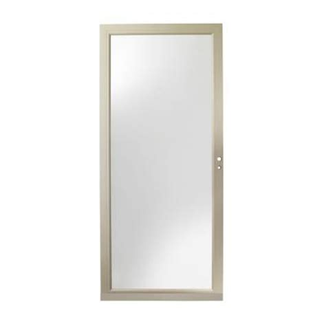 Andersen 4000 Door Installation by Andersen 36 In X 80 In 4000 Series Sandtone View