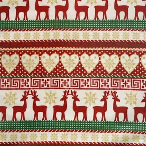 christmas pattern oilcloth reindeer christmas oilcloth tablecloth wipe easy tablecloths