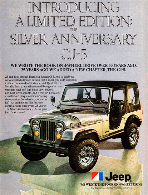 jeep ads 1979 jeep cj 5 ad cars today