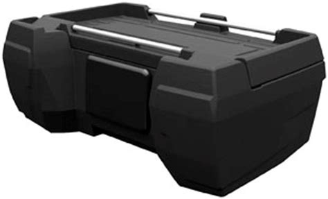 Atv Rack Box by Quadboss Deluxe Rear Cargo Storage Box Atv Rack Trunk