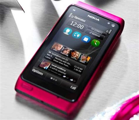 Casing Nokia 9500 Pink Edition pink edition of nokia n8 smartphone unfurled techgadgets