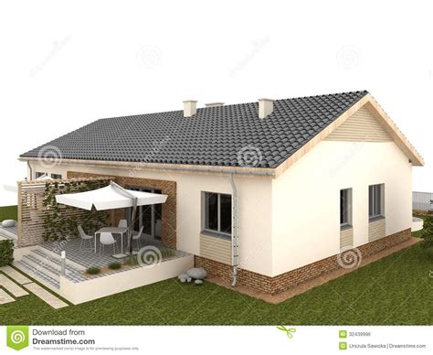 backyard classic backyard of classic house with terrace and garden royalty free stock image image