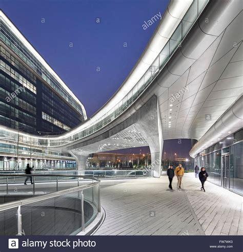 Lala Square lala sky soho shanghai china architect zaha hadid