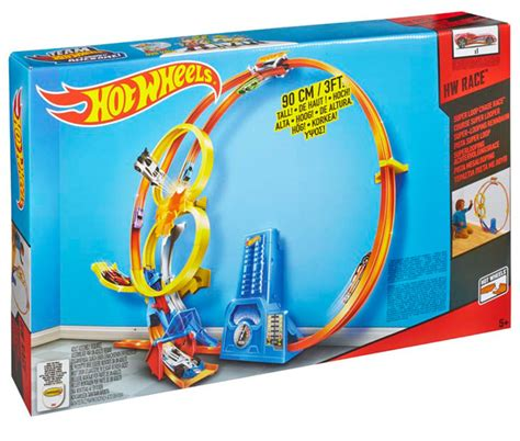 Hotwheels Loop Race wheels 174 loop race track set shop wheels cars trucks race tracks