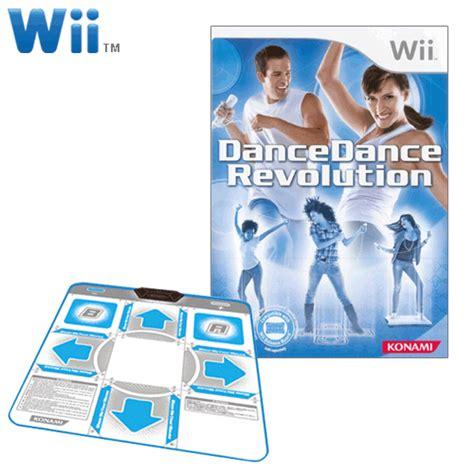 Wii Mat by In Stock Now Dancedancerevolution Original Bundle For